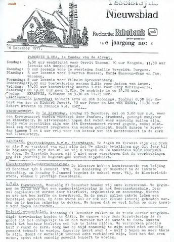 Ysselsteyns Nieuwsblad 1977-12-16