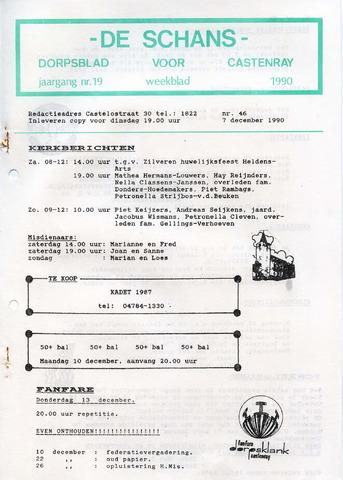 Castenrays dorpsblad De Schans 1990-12-07