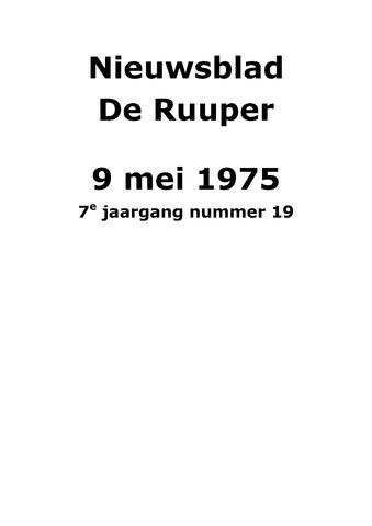 Dorpsblad Leunen-Veulen-Heide 1975-05-09