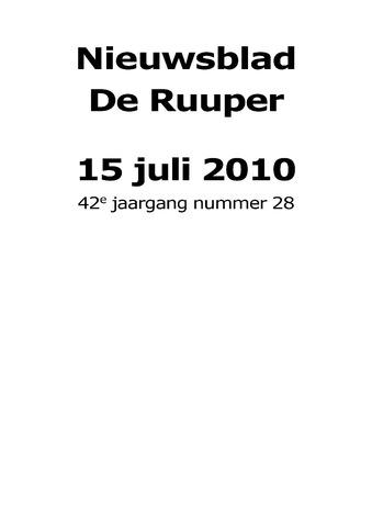 Dorpsblad Leunen-Veulen-Heide 2010-07-15