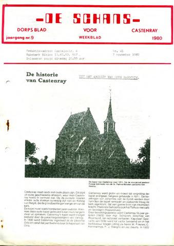 Castenrays dorpsblad De Schans 1980-11-07