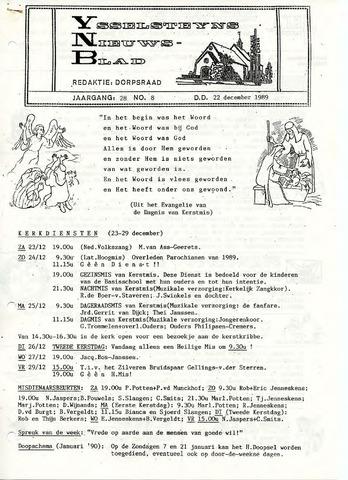 Ysselsteyns Nieuwsblad 1989-12-22
