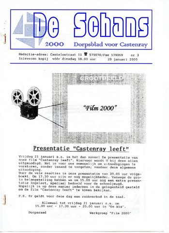 Castenrays dorpsblad De Schans 2000-01-20