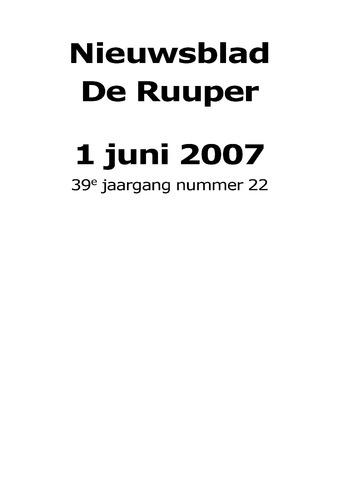 Dorpsblad Leunen-Veulen-Heide 2007-06-01