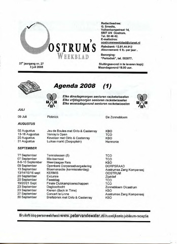 Oostrum's Weekblad 2008-07-03