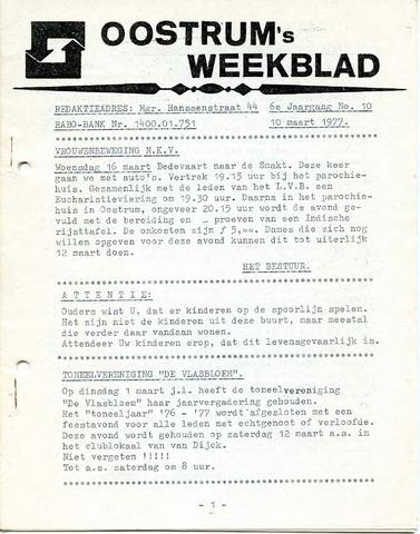 Oostrum's Weekblad 1977-03-10