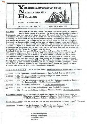 Ysselsteyns Nieuwsblad 1990-10-19