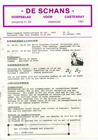 Castenrays dorpsblad De Schans 1991-01-25