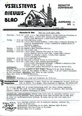 Ysselsteyns Nieuwsblad 1985-04-12