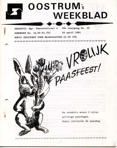 Oostrum's Weekblad 1981-04-16