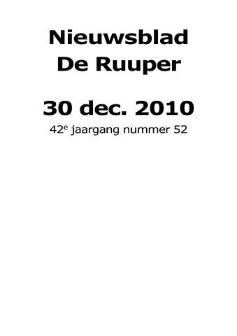Dorpsblad Leunen-Veulen-Heide 2010-12-30