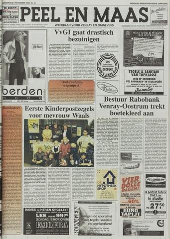 Peel en Maas 2000-11-09