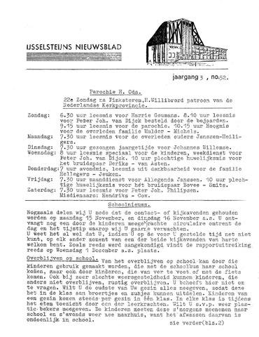 Ysselsteyns Nieuwsblad 1965-11-04