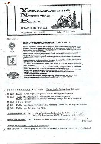 Ysselsteyns Nieuwsblad 1990-07-27