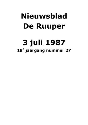 Dorpsblad Leunen-Veulen-Heide 1987-07-03