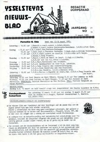 Ysselsteyns Nieuwsblad 1983-03-11