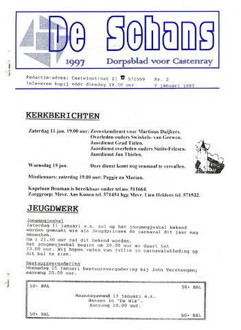 Castenrays dorpsblad De Schans 1997-01-09