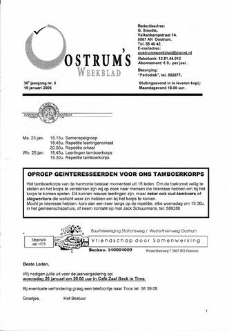 Oostrum's Weekblad 2006-01-19