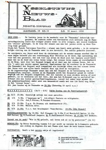 Ysselsteyns Nieuwsblad 1990-03-30