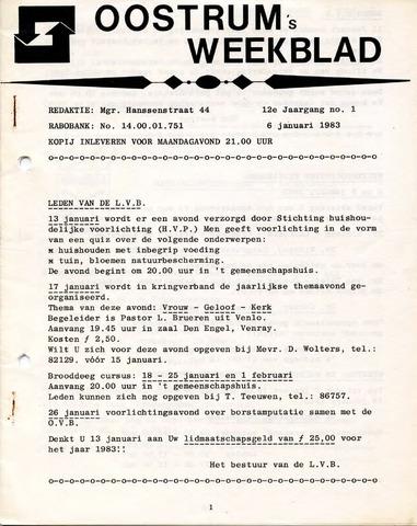 Oostrum's Weekblad 1983