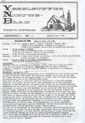 Ysselsteyns Nieuwsblad 1987-03-27