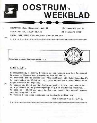 Oostrum's Weekblad 1983-02-24