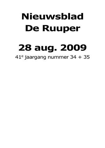 Dorpsblad Leunen-Veulen-Heide 2009-08-28