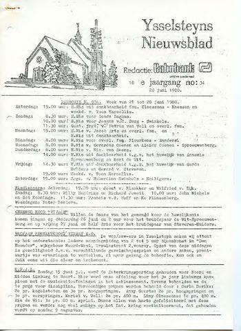 Ysselsteyns Nieuwsblad 1980-06-20