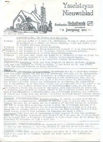 Ysselsteyns Nieuwsblad 1977-10-14