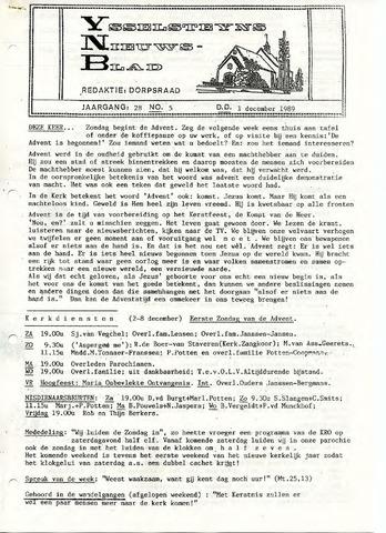 Ysselsteyns Nieuwsblad 1989-12-01