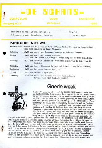 Castenrays dorpsblad De Schans 1983-03-11
