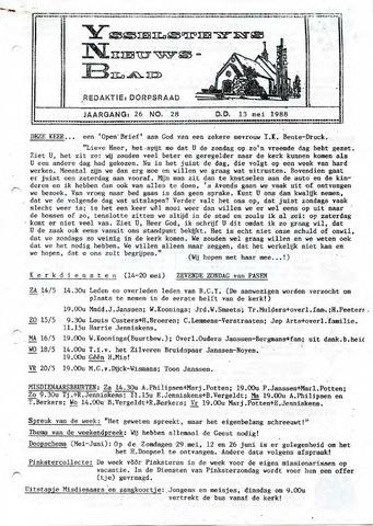 Ysselsteyns Nieuwsblad 1988-05-13
