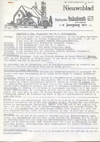 Ysselsteyns Nieuwsblad 1978-05-19