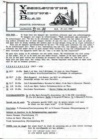 Ysselsteyns Nieuwsblad 1989-07-28