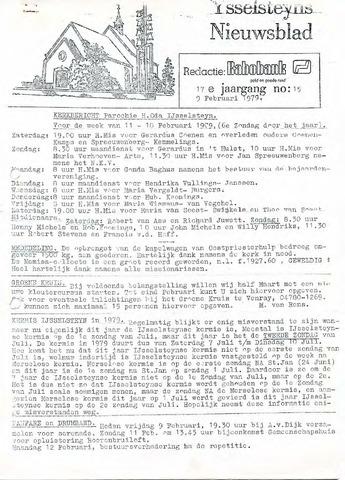 Ysselsteyns Nieuwsblad 1979-02-09