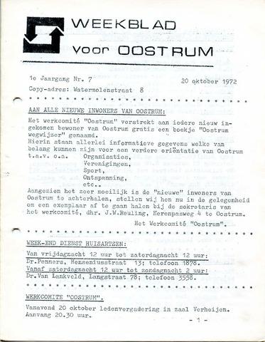 Oostrum's Weekblad 1972-10-20
