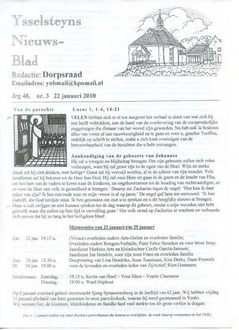 Ysselsteyns Nieuwsblad 2010-01-22