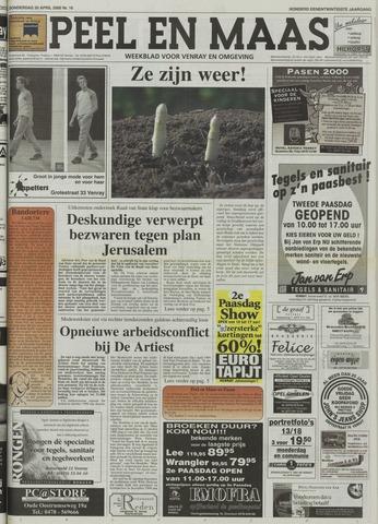 Peel en Maas 2000-04-20