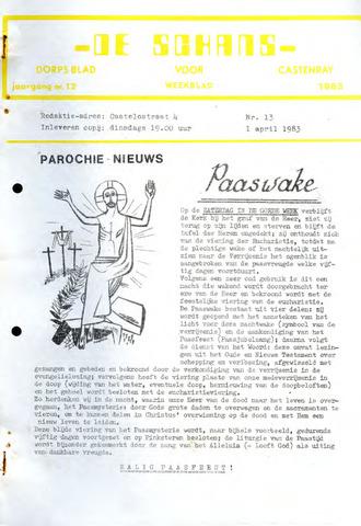 Castenrays dorpsblad De Schans 1983-04-01