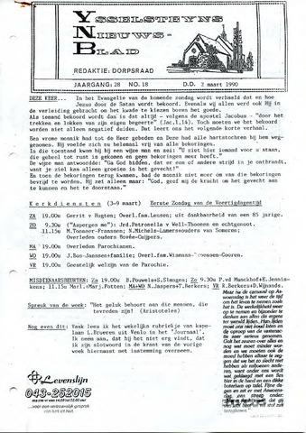 Ysselsteyns Nieuwsblad 1990-03-02