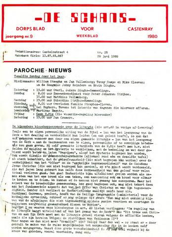 Castenrays dorpsblad De Schans 1980-06-20