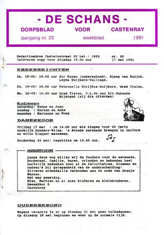 Castenrays dorpsblad De Schans 1991-05-17