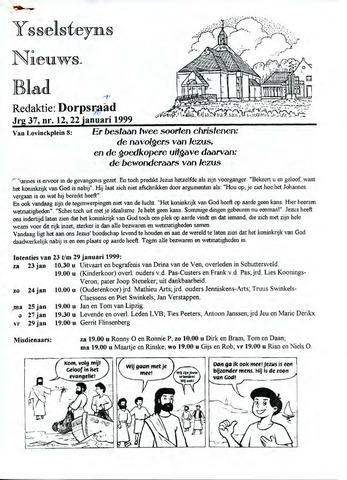 Ysselsteyns Nieuwsblad 1999-01-22