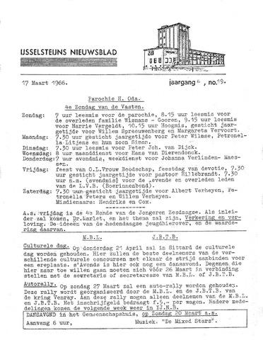Ysselsteyns Nieuwsblad 1966-03-17