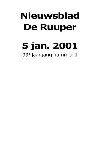Dorpsblad Leunen-Veulen-Heide 2001