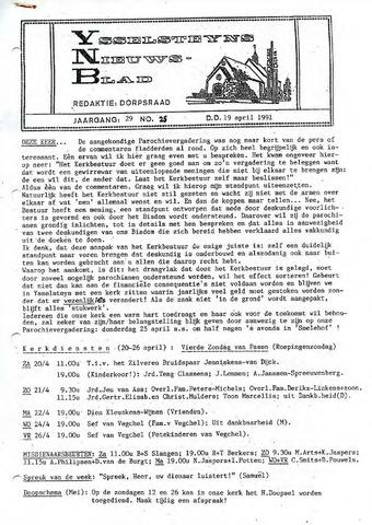 Ysselsteyns Nieuwsblad 1991-04-19