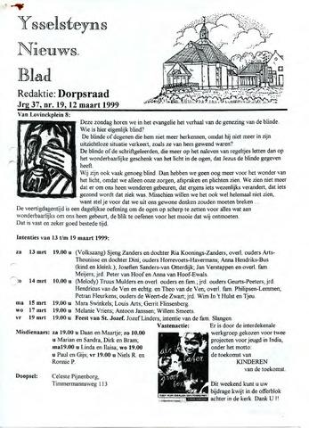 Ysselsteyns Nieuwsblad 1999-03-12