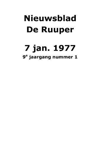 Dorpsblad Leunen-Veulen-Heide 1977