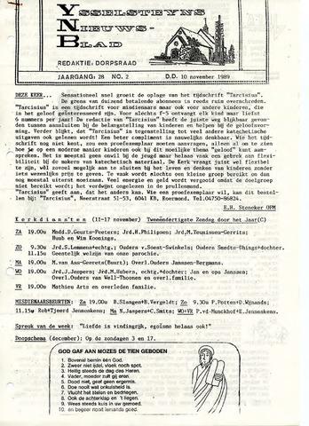 Ysselsteyns Nieuwsblad 1989-11-10