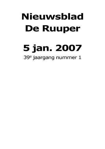 Dorpsblad Leunen-Veulen-Heide 2007-01-05